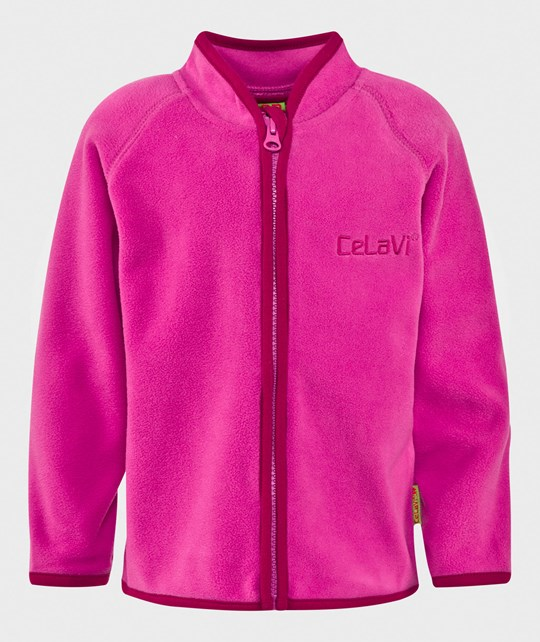 Celavi Флисовая Поддева Fleece Jacket -solid Real Pink Real pink