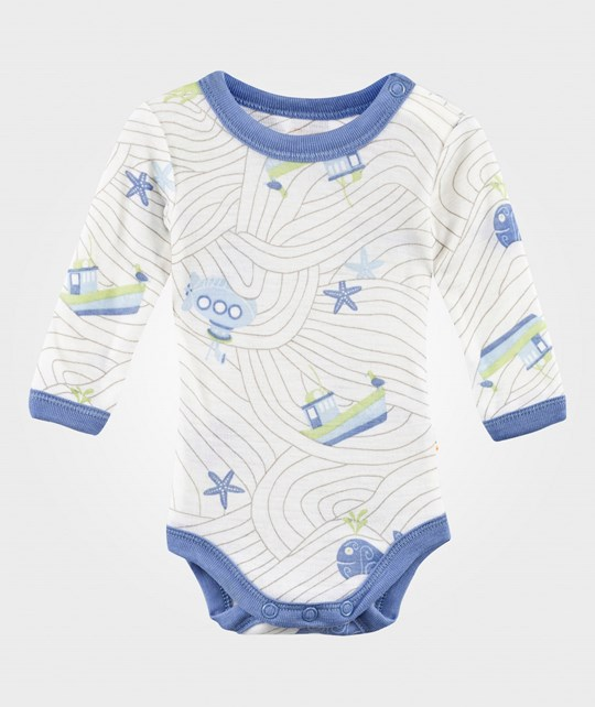 Joha Боди Octopus Baby Body Blue Octopus Boy