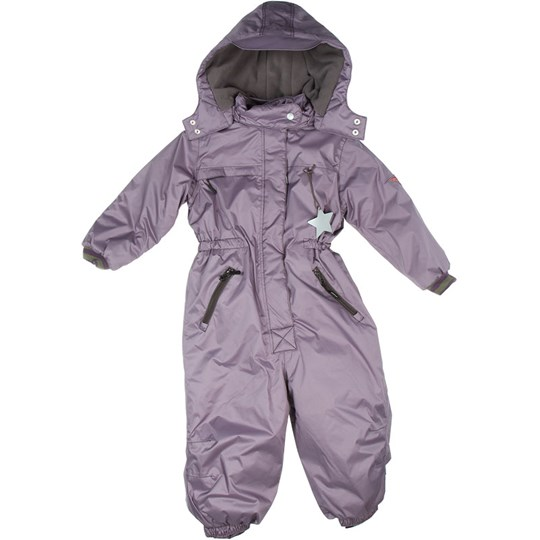 Mini A Ture Snowsuit Camillo Purple Sage Purple
