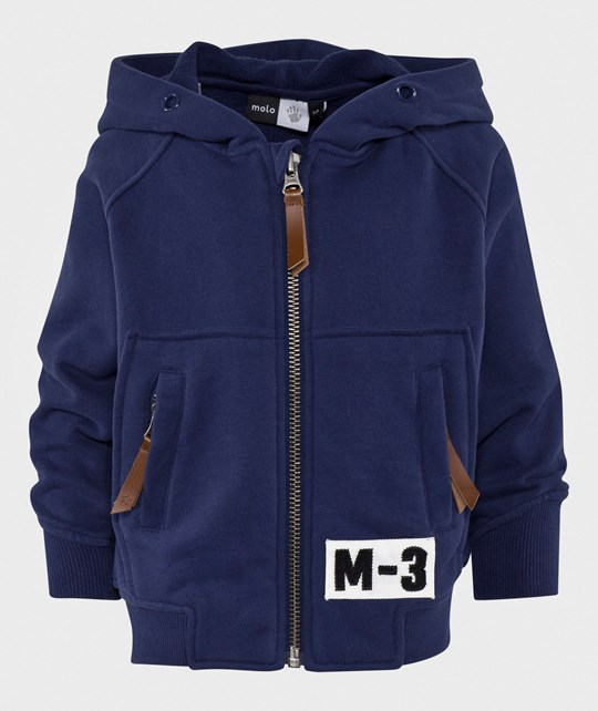 Molo Marco Hoodie Escape Blue Escape Blue