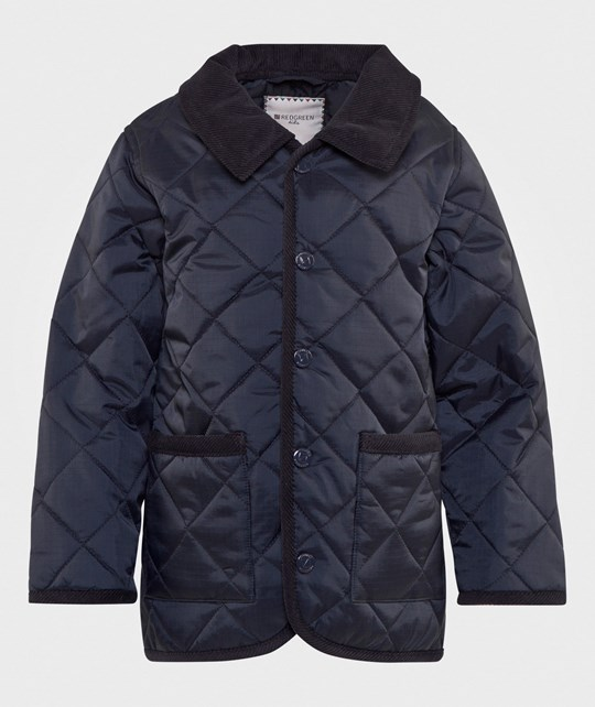 Redgreen Kids Quilted Jacket Navy Navy