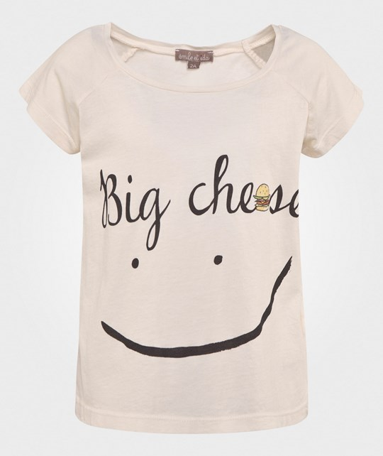 Emile et Ida T-Shirt Milk Big Cheese Milk Big Cheese