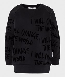 Someday Soon Sylvester Crewneck Black