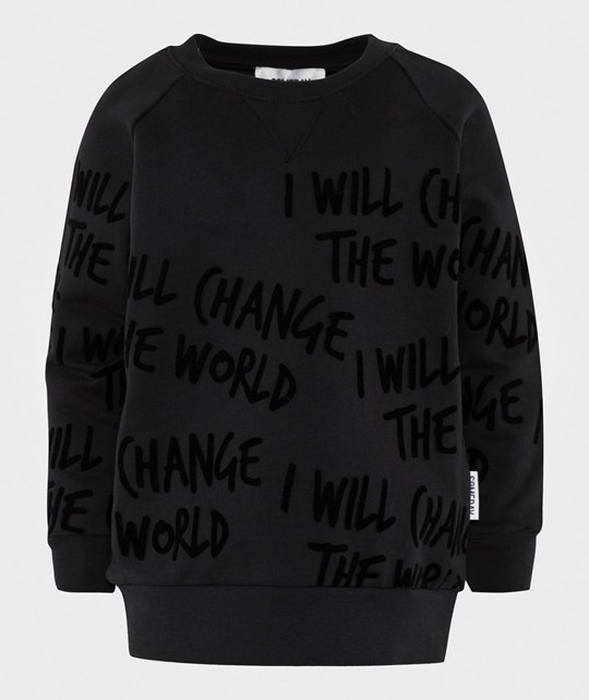 Someday Soon Sylvester Crewneck Black Black