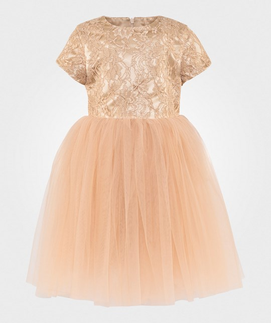 DOLLY by Le Petit Tom Minuet Dress Gold Gold