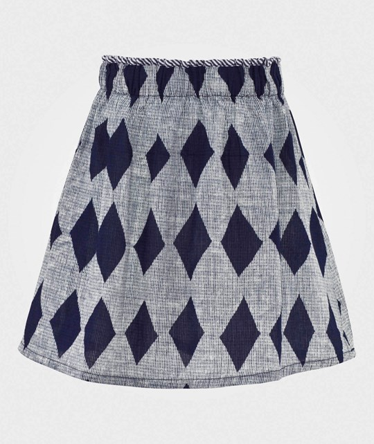 Bobo Choses Skirt Diamonds Petroleum Petroleum