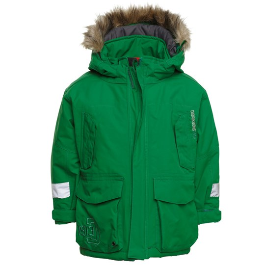 Didriksons Harlow Jacket Green Green