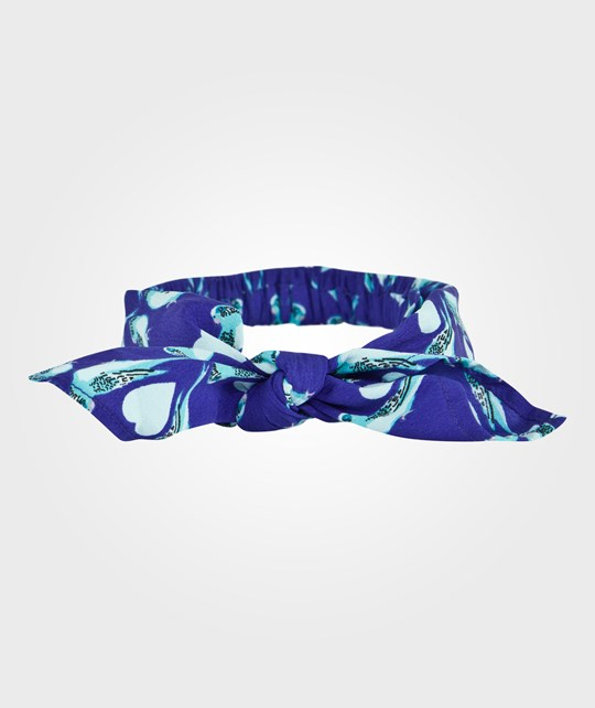 How To Kiss A Frog Headband Blue Blue