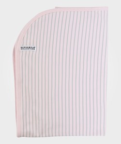 Geggamoja Blanket Pink/Light Grey