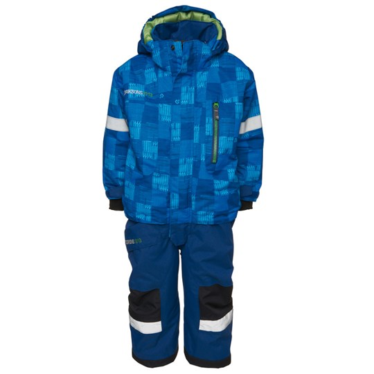 Didriksons Powell Coverall Blue Blue
