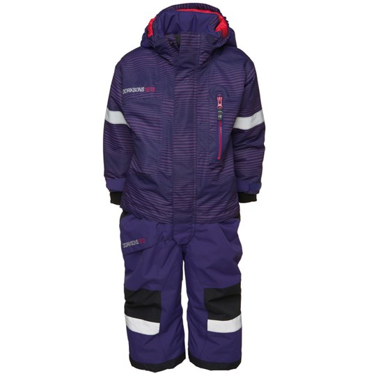 Didriksons Powell Coverall Orchid Wave Blue