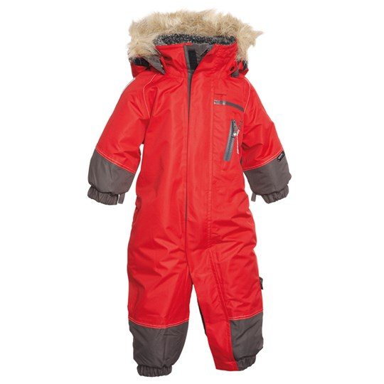 Didriksons Tucky Coverall Red Red