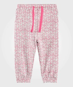 The Bonnie Mob Lightweight Terry Slouchy Trouser Pink Doodle