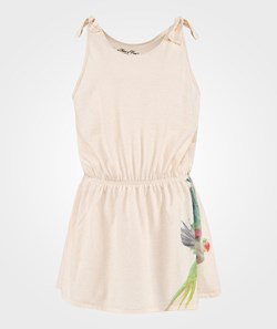 How To Kiss A Frog Slip Dress Parrot White