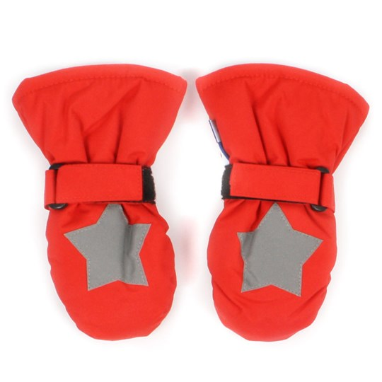 Molo Mitzy Mittens Ladybird Red
