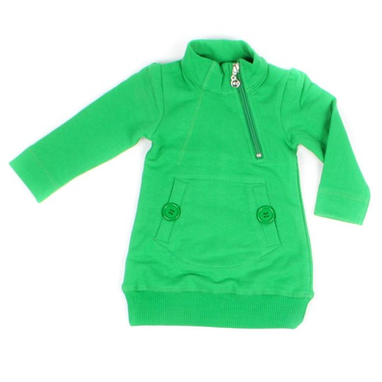 Kik Kid Dress French Knit Baby Green Green