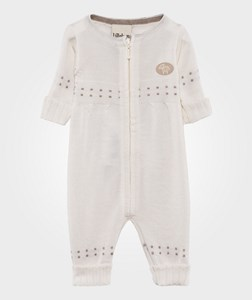 Image of Lillelam Basic Thin Baby One-Piece White 56 cm (1-2 mdr) (386985)
