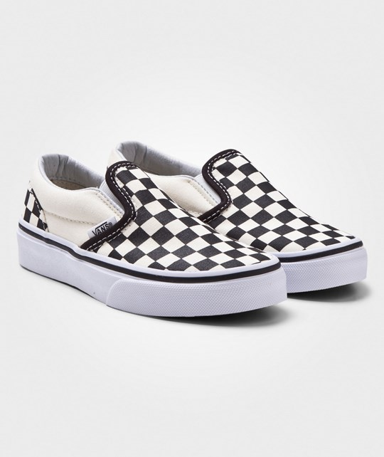 Vans Classic Slip-On Shoes Checkerboard Black/White Checkerboard Black/White
