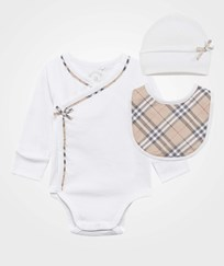 Burberry Kallie New Born Set White White