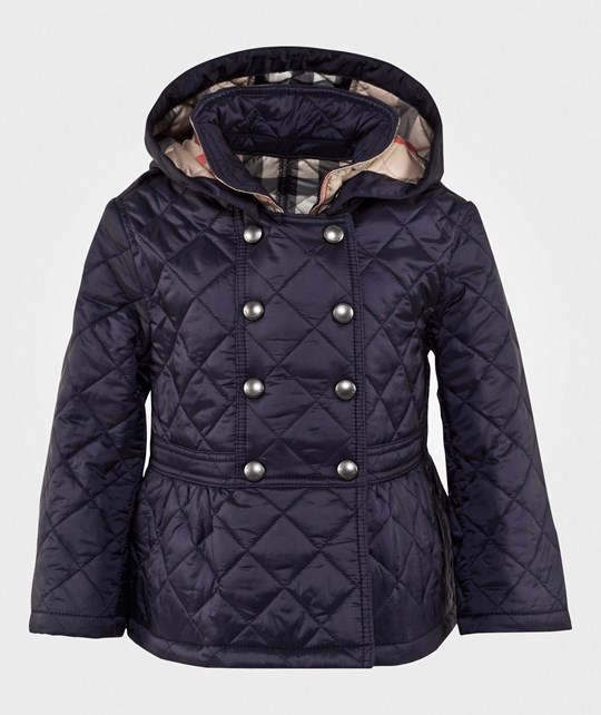 Burberry Portree Hooded Military Jacket Military Navy Military Navy