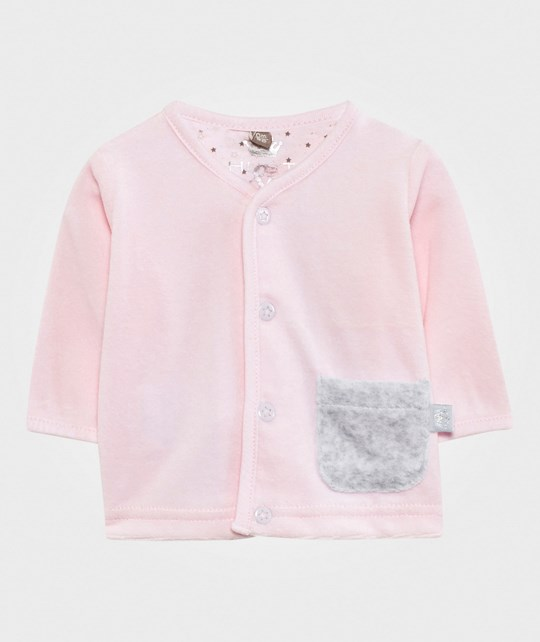 Hust&Claire Velour Cardigan Soft Rose Soft Rose