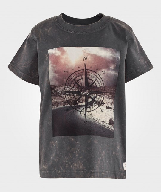 Hust&Claire T-Shirt in Dirty Dye Shadow Shadow