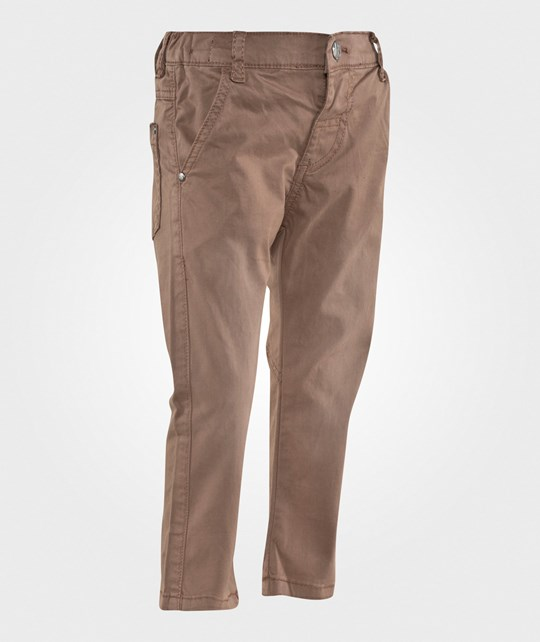 Hust&Claire Twill Pants Beaver Beaver