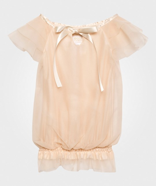 DOLLY by Le Petit Tom Fairy Top Cream White