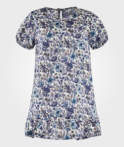 Christina Rohde Liberty Dress No. 102 Blue Flowered