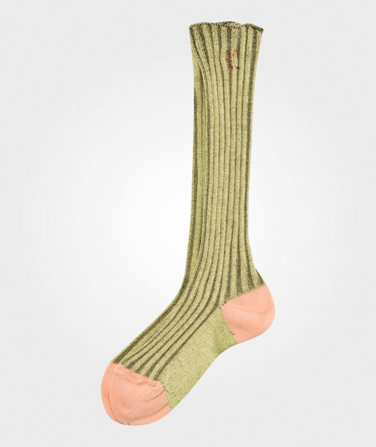Bobo Choses Long Socks Yellow Curry Curry