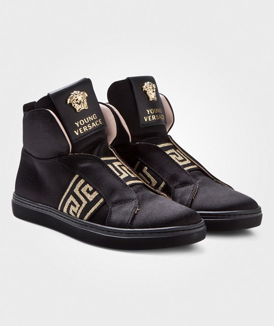 Versace Sneakers Black/Gold NERO/ORO