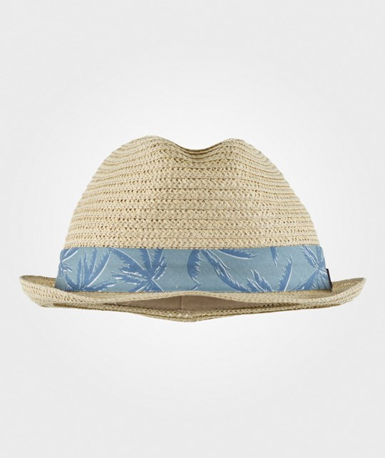 Melton Straw Hat Summer Pastel Blue Pastel Blue