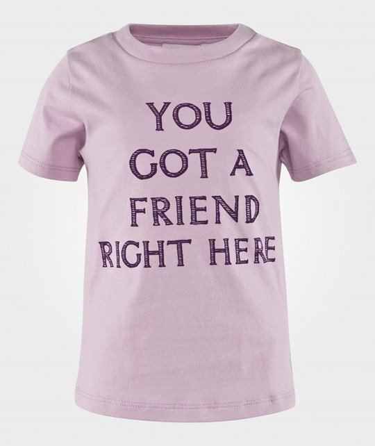 Livly You Got A Friend Right Here T-Shirt Lavender Fog Lavander Fog