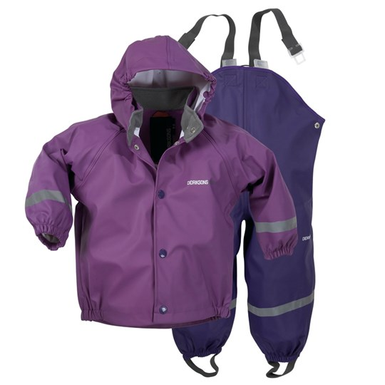 Didriksons Slaskeman Set Purple Purple