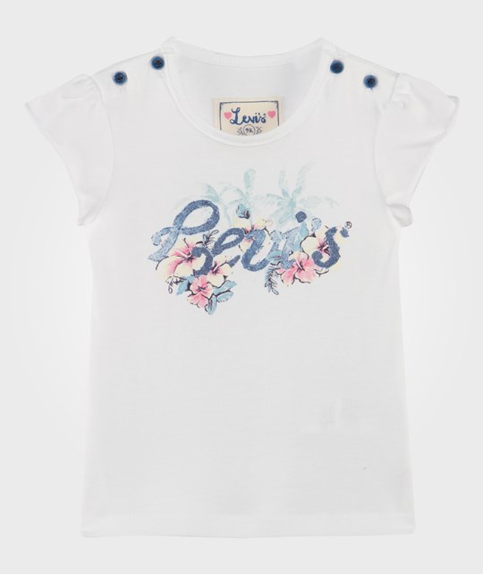 Levis Kids Flow Tee Shirt White White