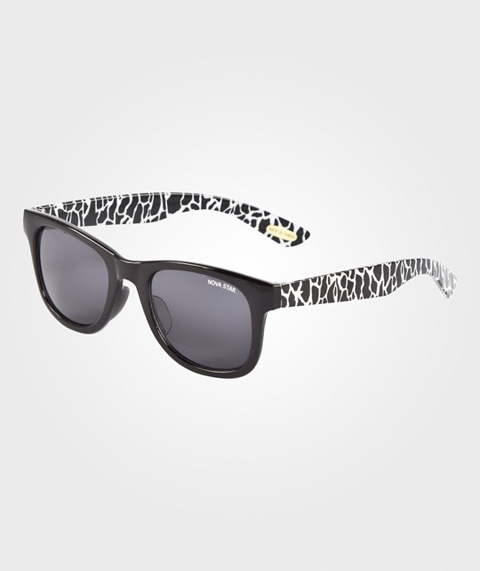 Nova Star Giraffe Sunglasses Black