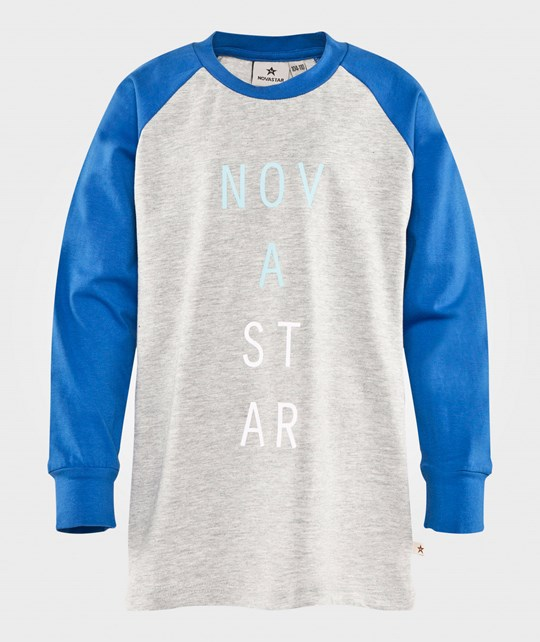 Nova Star Raglan Tee NS Blue/grey