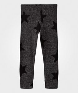 NUNUNU Star Leggings Charcoal