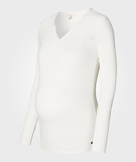Esprit Maternity Tee Offwhite Off white