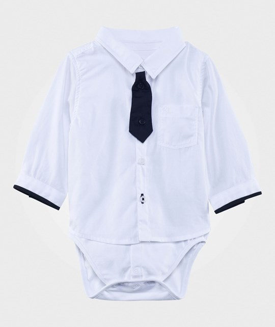 Karl Lagerfeld Kids Two-in-One Shirt Body White White