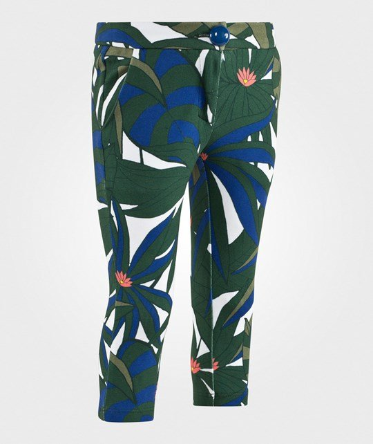 Little Marc Jacobs Trousers Green/Ecru Green/Ecru