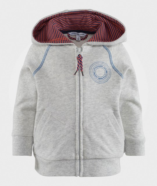 Little Marc Jacobs Hooded Cardigan Gris Clair Chine Gris Clair Chine