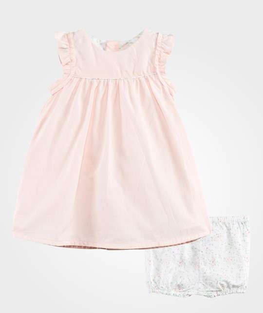 Carrément Beau Short Sleeved Dress Set Pink Pale Pink Pale