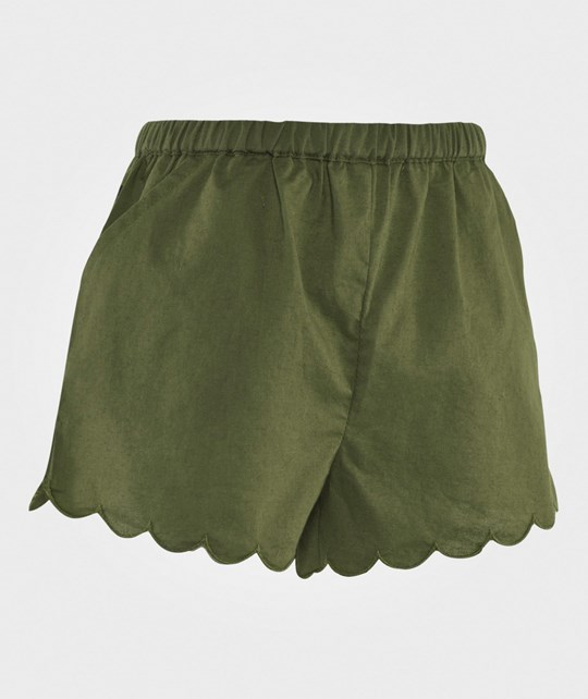 The BRAND Petite Shorts Army Green Army Green