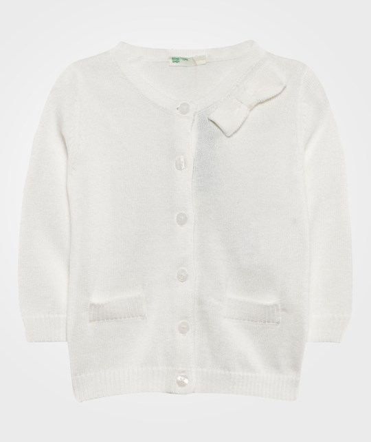 United Colors of Benetton Cardigan White WHITE 101