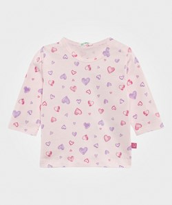United Colors of Benetton Heart T-Shirt Pink