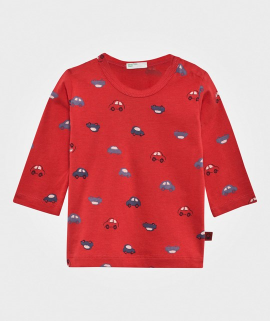 United Colors of Benetton Car T-Shirt Red RED 64V