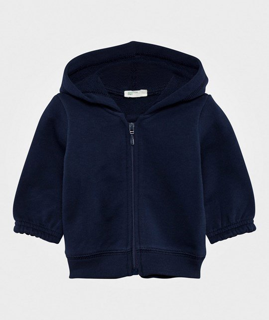 United Colors of Benetton Hoodie Navy NAVY 13C