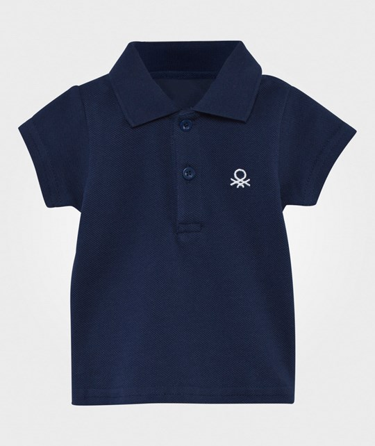 United Colors of Benetton Polo T-Shirt Navy NAVY 13C