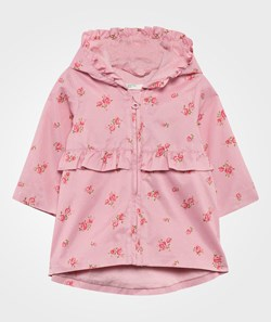 United Colors of Benetton Floral Jacket Pink